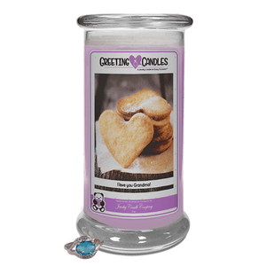 I Love You Grandma! | Jewelry Greeting Candles-Jewel Candles-The Official Website of Jewelry Candles - Find Jewelry In Candles!