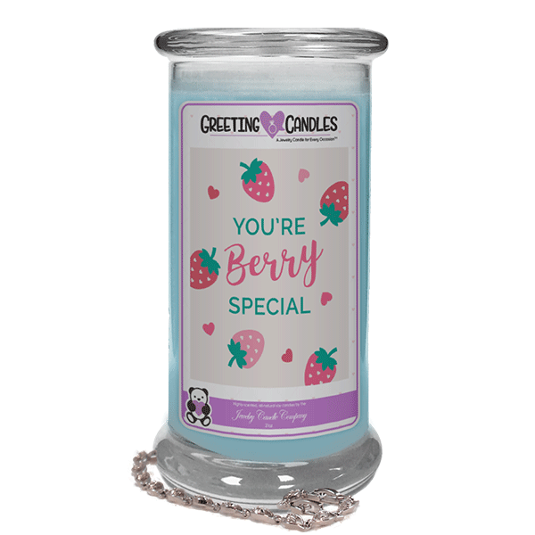 You're Berry Special | Jewelry Greeting Candles-