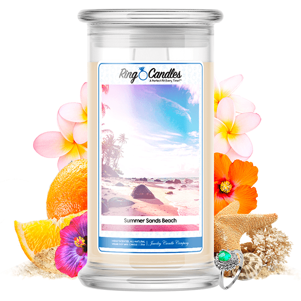 Summer Sands Beach | Ring Candle®