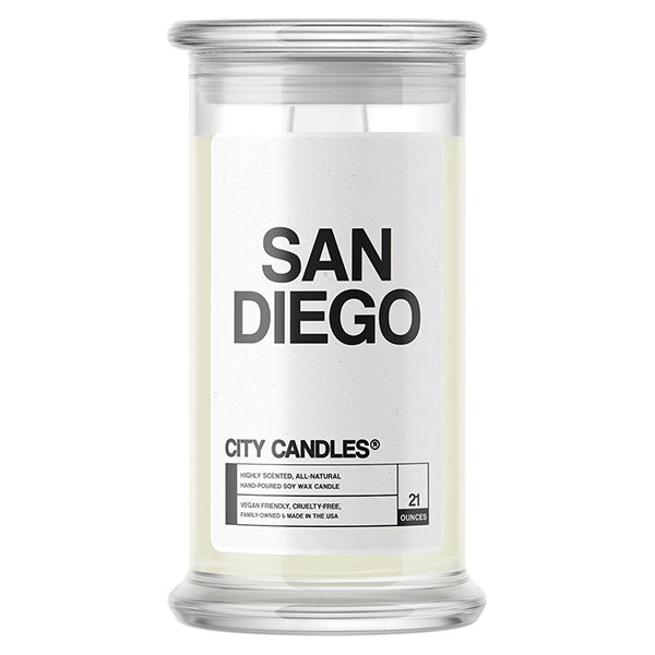 San Diego City Candle