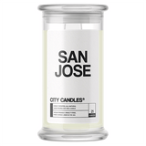San Jose City Candle