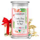 Santa Claus Is Coming To Town Jewelry Candle