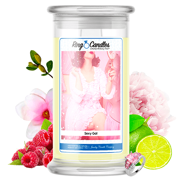 Sexy Gal Ring Candle