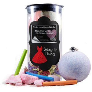 Sexy Little Thing | Jewelry Chalkboard Bath Bombs-Chalkboard Bath Bombs-The Official Website of Jewelry Candles - Find Jewelry In Candles!