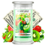 Strawberry Kiwi Splash Cash Money Candle
