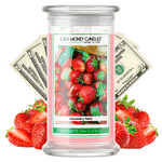 Strawberry Fields Cash Money Candle