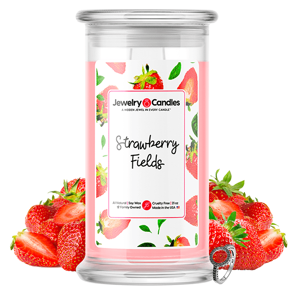 Strawberry Fields Jewelry Candle
