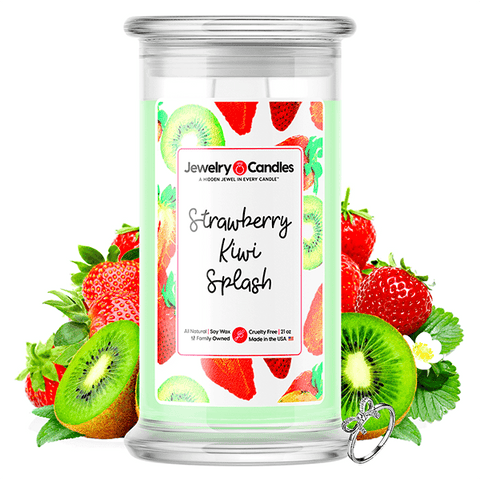 Strawberry Kiwi Splash Jewelry Candle