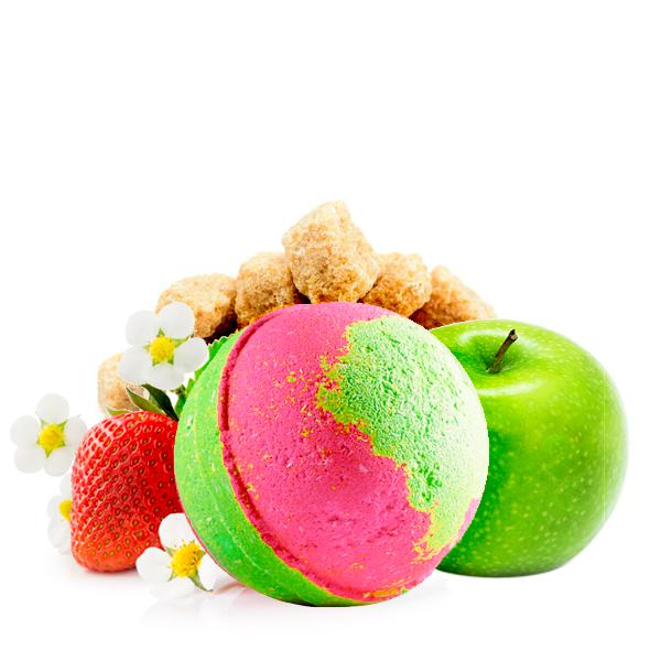 Extraordinary Strawberry | Single Toy Surprise Bath Bomb®-Single Toy Bath Bomb-The Official Website of Jewelry Candles - Find Jewelry In Candles!