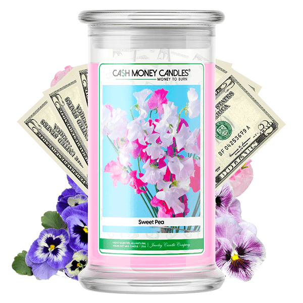 Sweet Pea Cash Money Candle