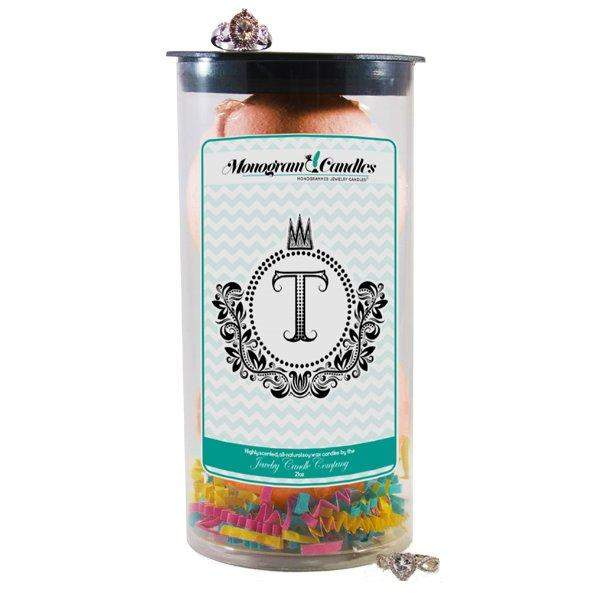 Letter T | Monogram Bath Bombs-Jewelry Bath Bombs-The Official Website of Jewelry Candles - Find Jewelry In Candles!