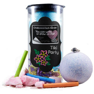 Tiki Party | Jewelry Chalkboard Bath Bombs-Chalkboard Bath Bombs-The Official Website of Jewelry Candles - Find Jewelry In Candles!