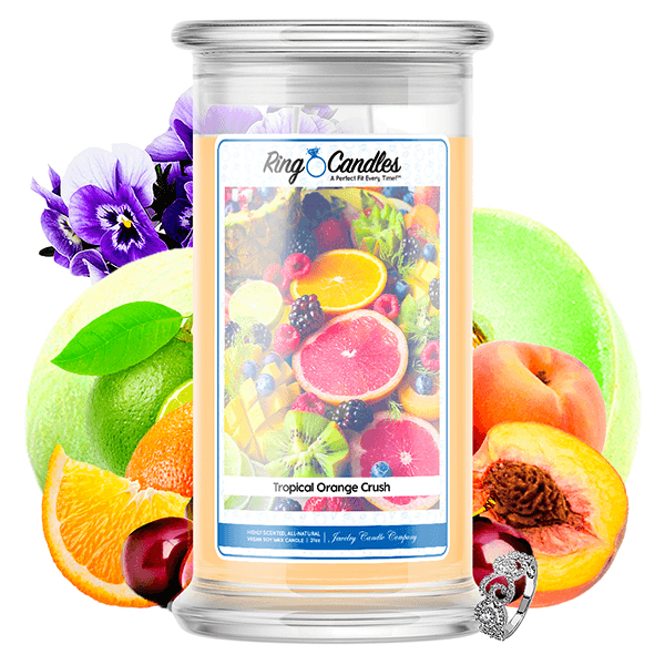 Tropical Orange Crush Ring Candle®
