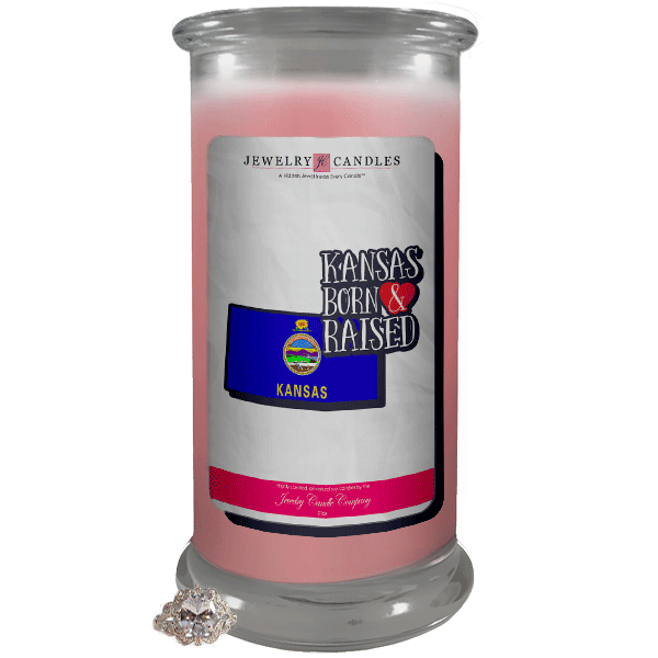 Kansas | Born & Raised Candles-Born & Raised Candles®-The Official Website of Jewelry Candles - Find Jewelry In Candles!