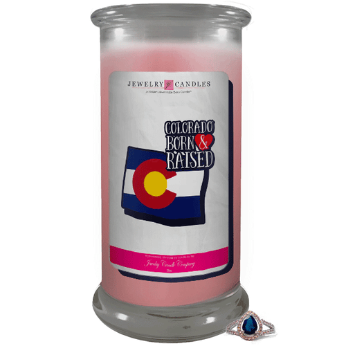 Colorado | Born & Raised Candles-Born & Raised Candles®-The Official Website of Jewelry Candles - Find Jewelry In Candles!