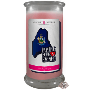 Maine | Born & Raised Candles-The Official Website of Jewelry Candles - Find Jewelry In Candles!