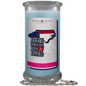 North Carolina | Born & Raised Candles-Born & Raised Candles®-The Official Website of Jewelry Candles - Find Jewelry In Candles!