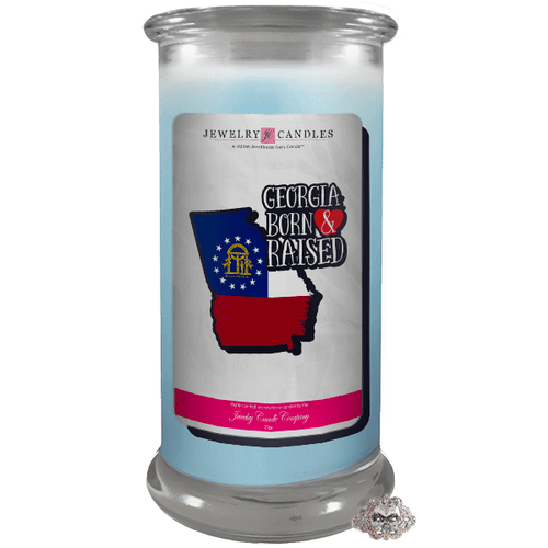 Georgia | Born & Raised Candles-Born & Raised Candles®-The Official Website of Jewelry Candles - Find Jewelry In Candles!
