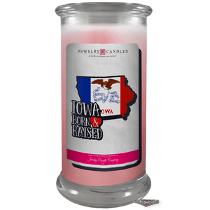 Iowa | Born & Raised Candles-The Official Website of Jewelry Candles - Find Jewelry In Candles!