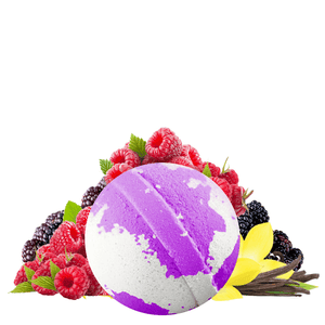 Very Berry Vanilla Jumbo Bath Bomb