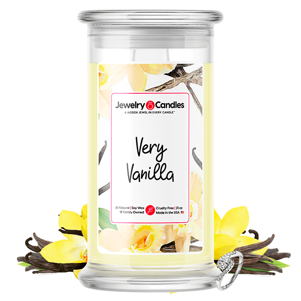 Very Vanilla Jewelry Candle