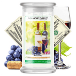 Wine Country Cash Money Candle