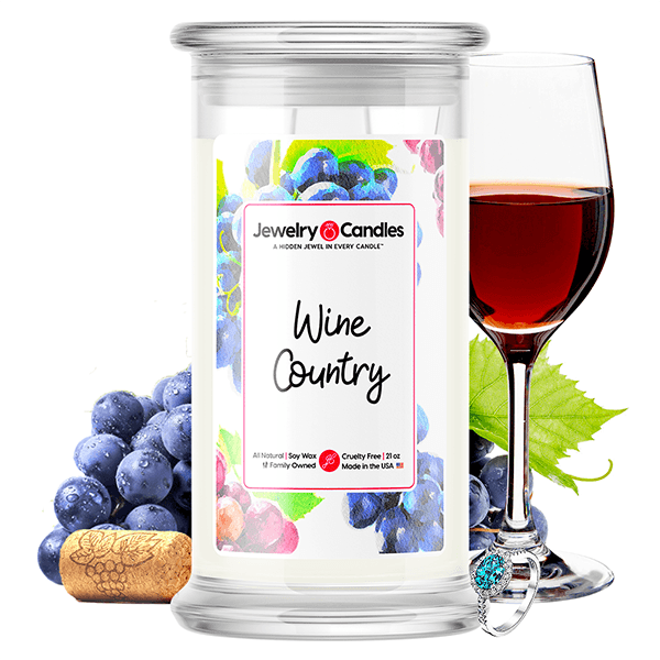 Wine Country Jewelry Candle