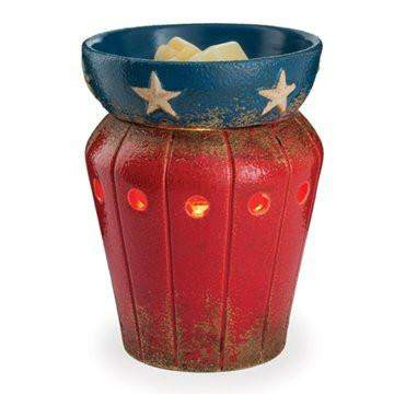 Jewelry Tart Warmer - Star Spangled-Jewelry Tart Warmer-The Official Website of Jewelry Candles - Find Jewelry In Candles!