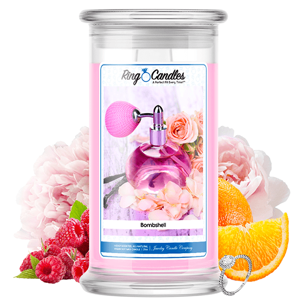 Bombshell   Ring Candle® — Jewelry Candles® - Birthday ...