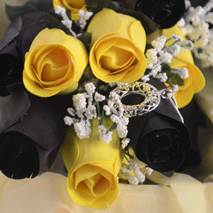 Z! Roses For Her, With Card!-Create Your Own Dozen Roses-The Official Website of Jewelry Candles - Find Jewelry In Candles!