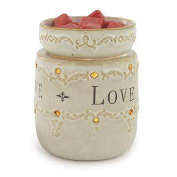 Jewelry Tart Warmer - Live, Love, Laugh-Jewelry Tart Warmer-The Official Website of Jewelry Candles - Find Jewelry In Candles!