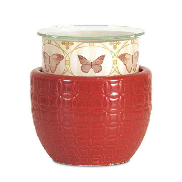 Jewelry Tart Warmer - Fall Butterflies-Jewelry Tart Warmer-The Official Website of Jewelry Candles - Find Jewelry In Candles!