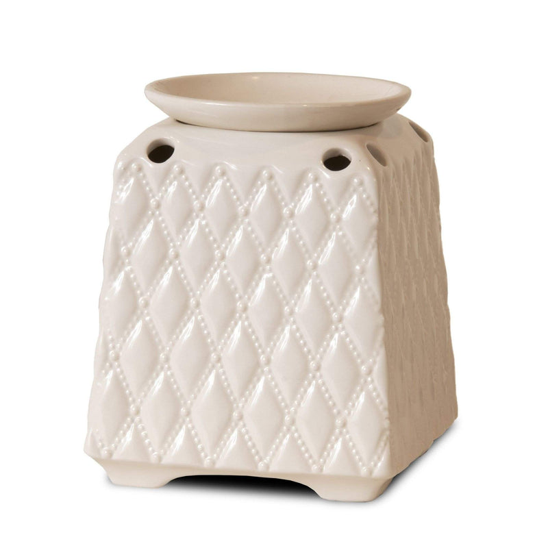 Jewelry Tart Warmer - Pearly Whites-Jewelry Tart Warmer-The Official Website of Jewelry Candles - Find Jewelry In Candles!