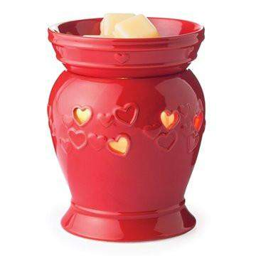Jewelry Tart Warmer - Queen of Hearts-Jewelry Tart Warmer-The Official Website of Jewelry Candles - Find Jewelry In Candles!