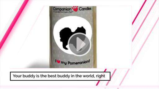 I Love My Pomeranian! - Companion Candles-Companion Candles-The Official Website of Jewelry Candles - Find Jewelry In Candles!