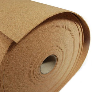 "48"" Wide X 8ft Cork Sheets ( Underlay)"