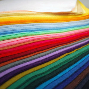 "WOOL BLEND FELT 72"" X 20 YARD ROLL @ $12.50/YD"