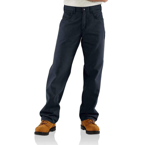 CARHARTT FLAME-RESISTANT LOOSE FIT MIDWEIGHT CANVAS PANT