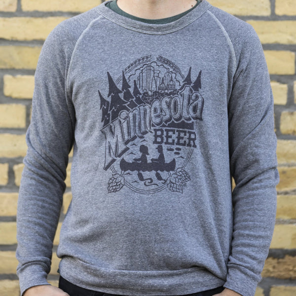 Minnesota Beer by Jeff Nelson Crewneck Sweatshirt