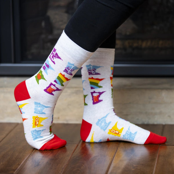 Adam Turman MN Months Socks