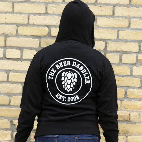 Beer Dabbler Hop Circle Zip-Up