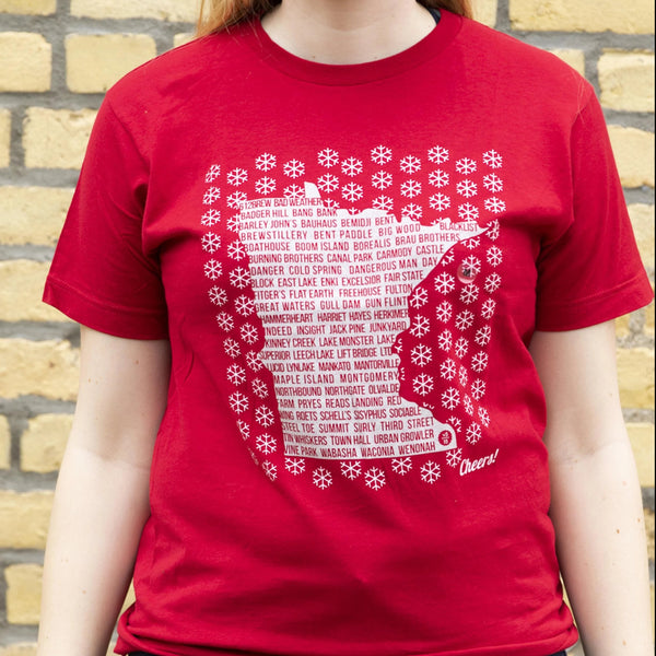 Minnesota Brewery Snow T-Shirt