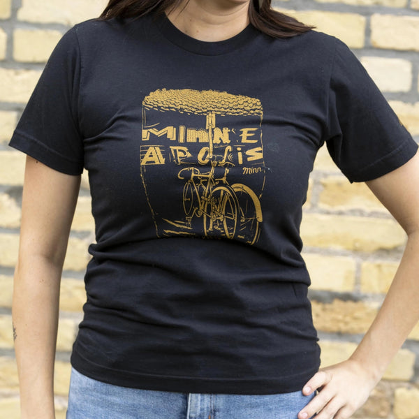 Minneapolis Bars, Bikes & Beers by Adam Turman T-Shirt