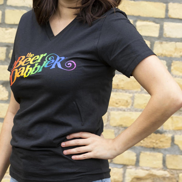 Beer Dabbler Rainbow Logo T-Shirt