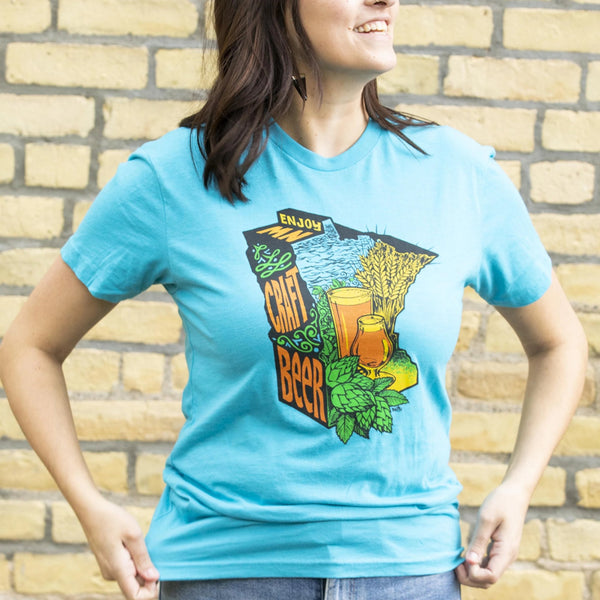 Enjoy MN Craft Beer by DWITT T-Shirt