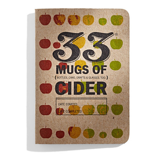 33 Mugs of Cider Tasting Books