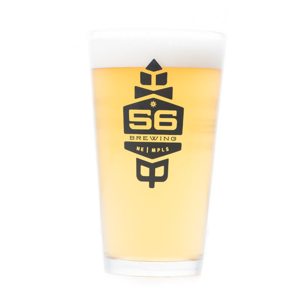 56  Brewing Pint Glass