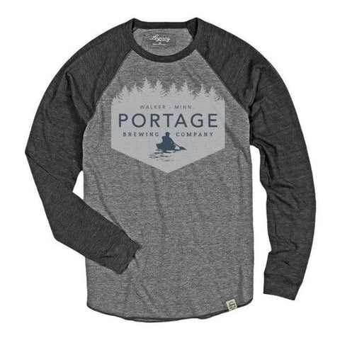 Portage Brewing Long Sleeve Raglan