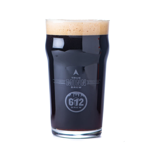 612Brew Nonic Pint Glass