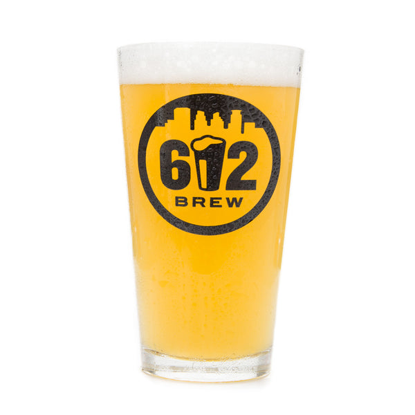 612Brew Pint Glass
